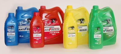 Antifreeze from the manufacturer G11.G12. G13 wholesale. In barrels, cubes