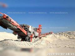 Crusher SANDVIK 341, 2014, 1640 m/h, from Europe