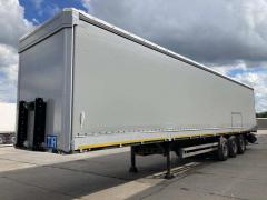 Curtains for semi-trailers
