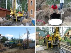 Drilling of water wells in the Moscow region