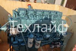 Engine of cargo dump trucks and tractors