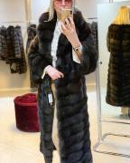 Fur coat from Barguzin sable