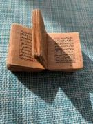 Handwritten scroll of the Koran prayer book, Barnaul