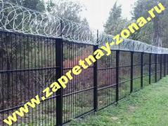 Installation and sale of barbed wire Egoza in Saint-Petersburg