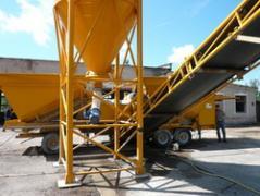 Мобильный бетонный завод Sumab LT 1200 (40 м3/час) Швеция