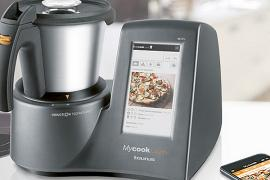 Mycook Touch is a food processor with the slow cooker and tablet