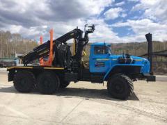 Selling new trucks Ural 55571 with manipulator