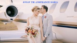 Wedding flights by private jet