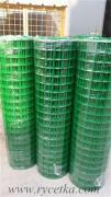 Welded wire mesh with PVC coating