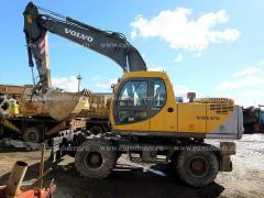 Wheeled excavator VOLVO 170, 6000 m/h, max. options
